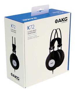 Akg K72 Closed-back Auriculares De Estudio