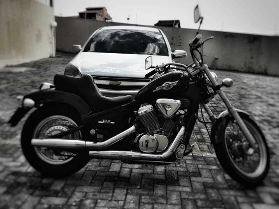 Honda Shadow 600 Cc . Aceito Moto De Menor Cilindrada .