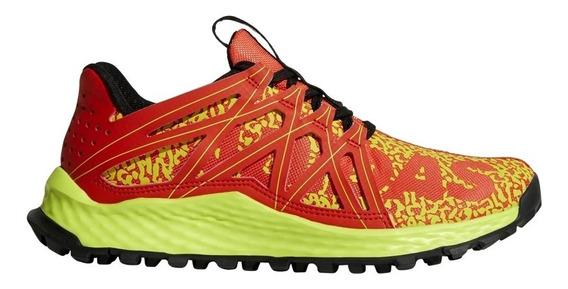 Tenis adidas Vigor Bounce Naranja Trail Running Correr