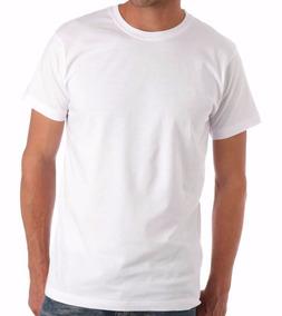 10 Camisetas Brancas 100% Algodão Fio 30 Penteado