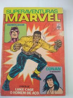 Superaventuras Marvel Nº 4 - 1982 - Ed. Abril - Rara !