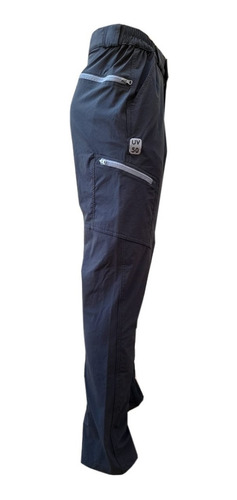 Pantalon Makalu Cargo Secado Rapido Filtro Uv Hombre Treking