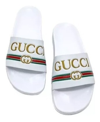 Chinelo Sandália Masculino Gucci Slide Promoção