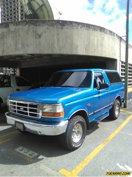 Ford Bronco Sincronica