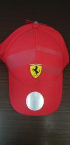 Boné Ferrari Oficial Vermelho Original