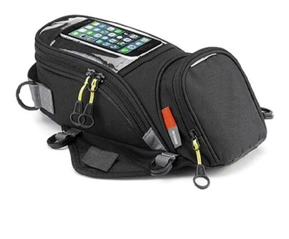 Bolsa Tanque Modelo Givi Magnética Touch Universal,