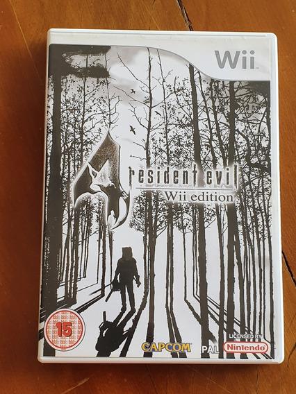 Resident Evil 4 Wii Europeu Mídia Física Sem Manual