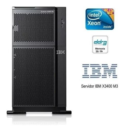 Servidor Ibm System X3400 M3 M/t 7379-e8p - Sn: Tr01yzb