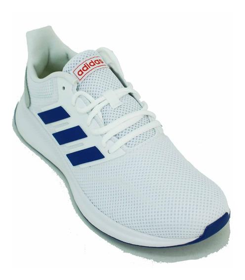 Zapatilla adidas Runfalcon Blanco/azul Hombre Deporfan