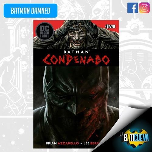 Imagen 1 de 3 de Batman Damned Condenado Español Latino