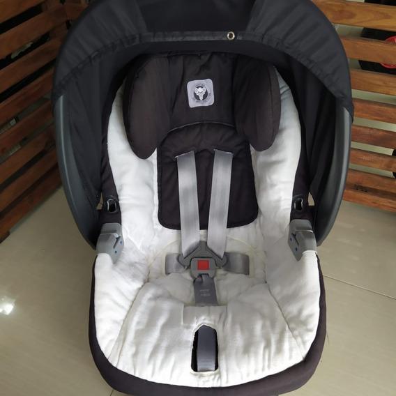 Bebê Conforto Peg-perego Preto/branco Base Veicular Isofix