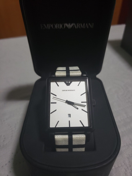 Relógio Unissex Empório Armani Original Na Caixa Com Manual