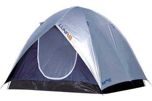 Imagem 1 de 3 de Barraca Camping Luna 5 Pessoas Grande Sobreteto 009038