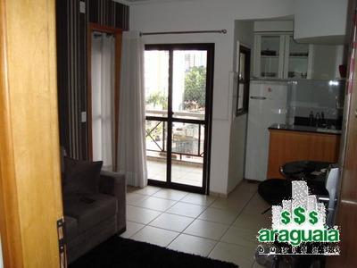 Apartamento Flat Com 1 Quarto No Cristal Place - Araguaia-0606-l