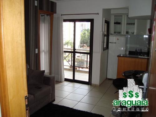 Imagem 1 de 11 de Apartamento Flat Com 1 Quarto No Cristal Place - Araguaia-0606-l