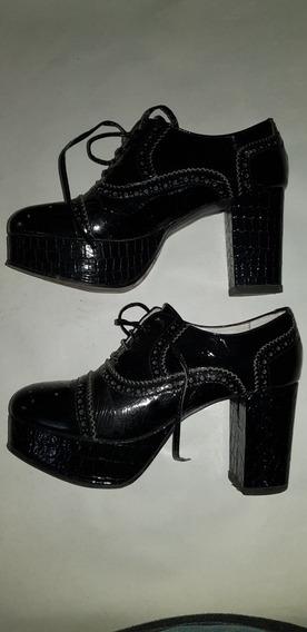 Zapatos Con Plataforma De Vestir