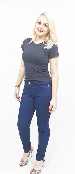 Kit 3 Calça Jeans Feminina Plus Size Skinny Lycra Do 36 A 62
