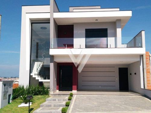 Sobrado Com 3 Dormitórios À Venda, 235 M² Por R$ 1.200.000,00 - Condomínio Ibiti Reserva - Sorocaba/sp - So0879
