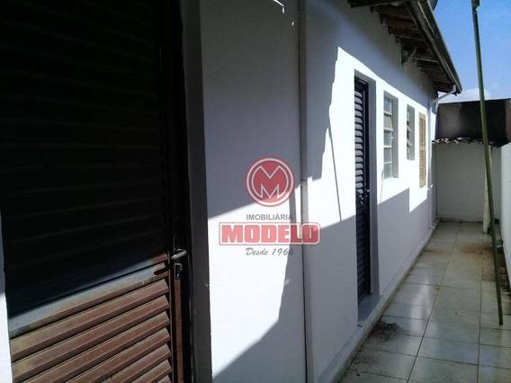 Casa Com 1 Dormitório Para Alugar, 55 M² Por R$ 450,00/mês - Vila Monteiro - Piracicaba/sp - Ca2309