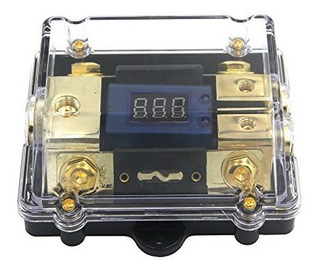 Zookoto 250a Portafusibles, Car Audio Estéreo Led Pantalla V
