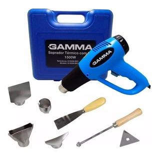 Pistola De Calor En Kit Gamma 2000 W + Maletin Y Accesorios