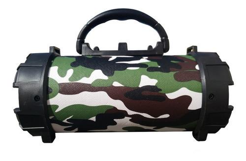 Imagem 1 de 1 de Alto-falante Grasep D-P13 portátil com bluetooth camuflado