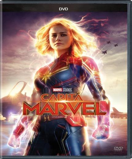 Dvd Original Capitã Marvel - Filme Disney Lançamento Lacrado