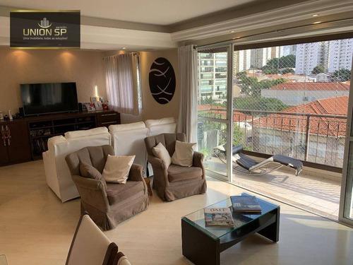 Apartamento Com 3 Dormitórios À Venda, 123 M² Por R$ 1.459.000,00 - Perdizes - São Paulo/sp - Ap49380
