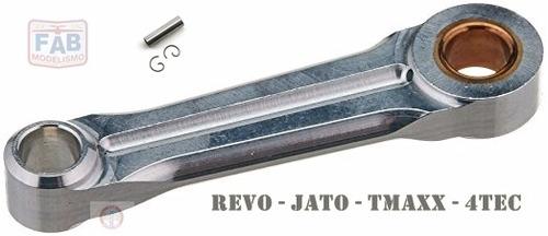 Imagem 1 de 1 de 5224 - Biela Motor Traxxas 3.3 Revo + Pino Do Pistão