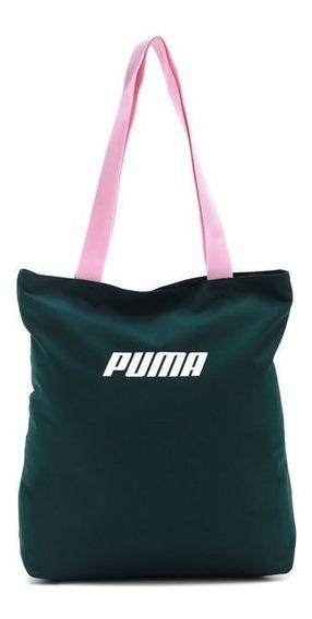 Bolsa Puma Core Shopper Verde - Original