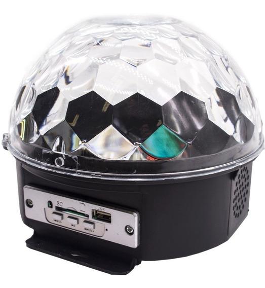 Bola Maluca Led Rgb Holográfico 20w 8ch Cystall Ball