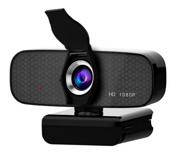 Webcam Com Microfone Full Hd 1080p Pronta Entrega C/ Nf