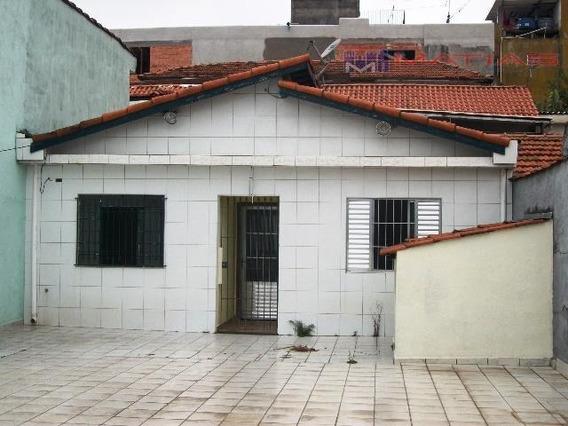 Casa Residencial À Venda, Chácara Belenzinho, São Paulo. - Ca0079