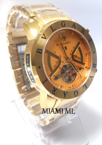 Relógio Bvlgari 111 Automático X Funcional Original 12x