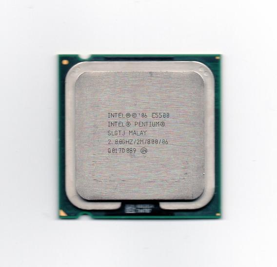 Processador Intel Dual Core E5500 2.80ghz Lga 775 Fsb 800
