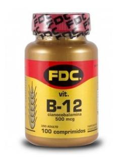 Vitamina B-12 Fdc 100 Comprimidos