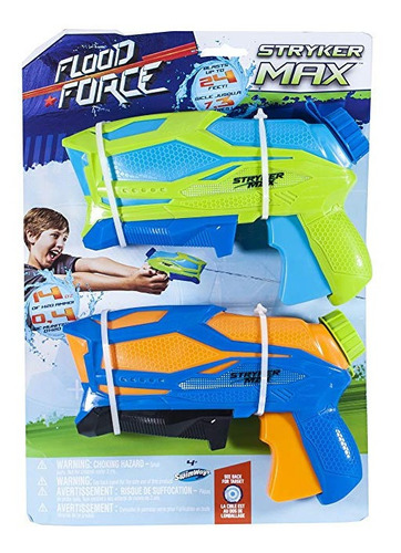 Swimways Set 2 Pistolas Agua Stryker Max Int 88112 Original