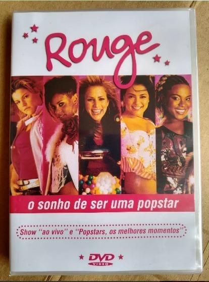 Dvd Rouge - O Sonho De Ser Uma Popstar - Original