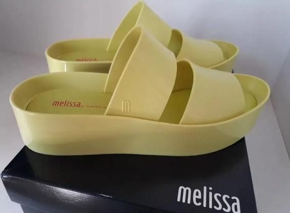 Sandália Melissa Shibuya - Verde 37 - Pouco Uso