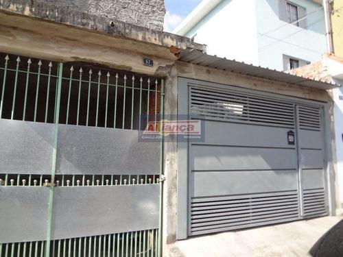 Casa Residencial À Venda, Jardim Palmira, Guarulhos. - Ai78
