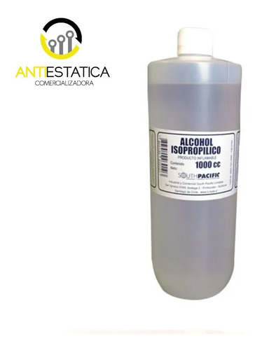 Alcohol Isopropilico De Alta Pureza 1 Litro