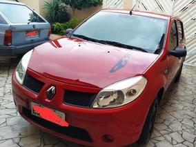 Renault Sandero 2009 1.0 16v Hi-flex Completo