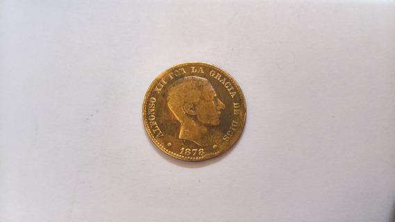 Moneda Española - 10 Céntimos - Alfonso Xii - Año 1878