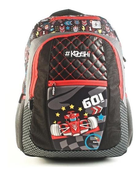 Mochila Kooshi Autos F1 Espalda 17