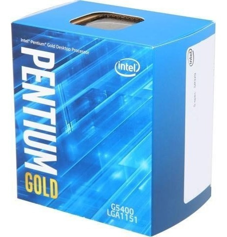 Processador Intel Pentium 1151 G5400 3.7ghz 4mb Coffee Lake