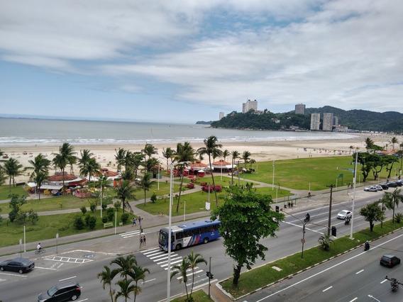 Apartamento Frente Para O Mar No Itararé