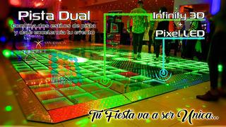Pista De Baile Dual (infinity + Pixel) Unica Fxbsas