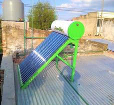 Instalación Termo-tanque Solar Termosifon Heat Pipe 300l