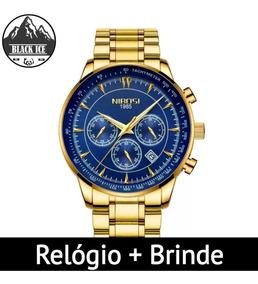 Relógio Masculino Nibosi 2357 + Brinde Exclusivo