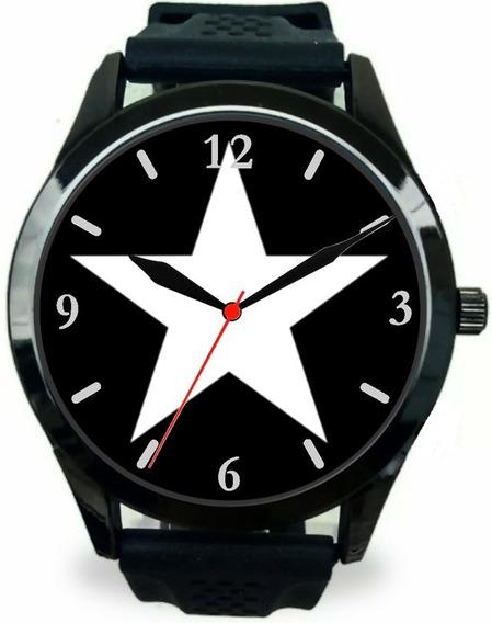 Relógio Pulso Masculino Botafogo Rj Futebol Barato Promoção
